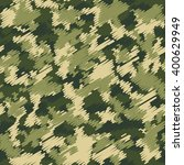 camouflage military fashion... | Shutterstock .eps vector #400629949