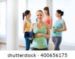 pregnancy  sport  fitness ... | Shutterstock . vector #400656175