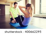 fitness  sport  training ... | Shutterstock . vector #400662295