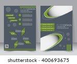 abstract flyer design... | Shutterstock .eps vector #400693675