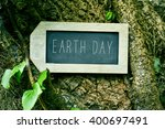 closeup of a label shaped... | Shutterstock . vector #400697491