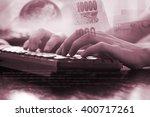 close up of business man hand...   Shutterstock . vector #400717261