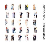 team over white workforce... | Shutterstock . vector #400720609