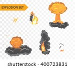 explode animation effect.... | Shutterstock .eps vector #400723831