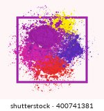 bright colorful banner with... | Shutterstock .eps vector #400741381