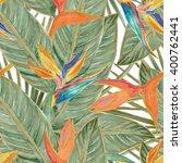 watercolor seamless pattern... | Shutterstock . vector #400762441