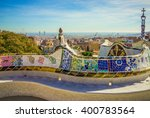 Colorful Mosaic Tile Bench Of...
