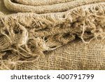 the texture of the bag from the ... | Shutterstock . vector #400791799