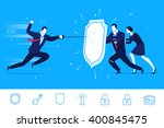 flat design vector concept... | Shutterstock .eps vector #400845475