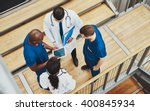 Multiracial Medical Team Havin...