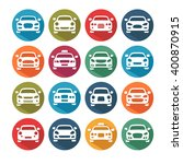 car icons | Shutterstock .eps vector #400870915