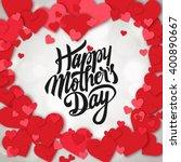 happy mothers day design... | Shutterstock .eps vector #400890667