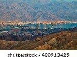 evening view from eilat... | Shutterstock . vector #400913425