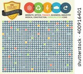 big icon set design universal...   Shutterstock .eps vector #400916401