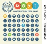 construction and engineer tool ... | Shutterstock .eps vector #400916425