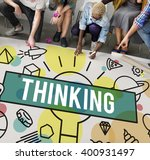 thinking vision creative... | Shutterstock . vector #400931497