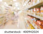abstract of retail store... | Shutterstock . vector #400942024