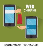 shopping online design  | Shutterstock .eps vector #400959031