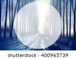 spring forest background blur...   Shutterstock . vector #400965739