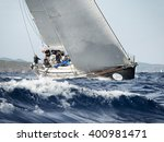 porto cervo   8 september  team ... | Shutterstock . vector #400981471
