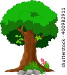 vector illustration of tree... | Shutterstock .eps vector #400982911