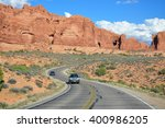 Arches National Park  Utah  Us...