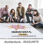 innovate create ideas... | Shutterstock . vector #401014975