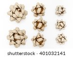 ribbons on a white background  | Shutterstock . vector #401032141