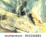 Abstract Painting Color Textur...