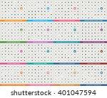 set of 784 universal fitness... | Shutterstock .eps vector #401047594
