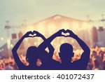 they love this band  | Shutterstock . vector #401072437