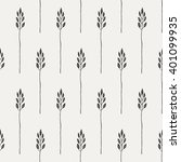 seamless pattern in a rustic... | Shutterstock .eps vector #401099935