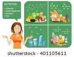 basic illustrations for... | Shutterstock .eps vector #401105611