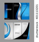 brochure mock up design... | Shutterstock .eps vector #401113201