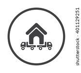 truck icon jpg | Shutterstock .eps vector #401129251