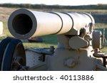 Old Barrel Of An Artillery...