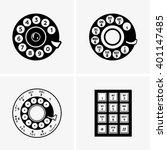 phone dial   Shutterstock .eps vector #401147485