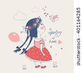 hand drawn vector illustration...   Shutterstock .eps vector #401164285