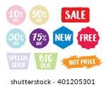 sale symbol  special offer... | Shutterstock .eps vector #401205301