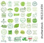 cruelty free  not tested on... | Shutterstock .eps vector #401211454