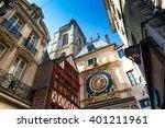 Rouen  Buildings In The...
