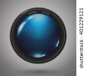 camera photo lens. vector... | Shutterstock .eps vector #401229121