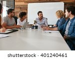 portrait of young office... | Shutterstock . vector #401240461