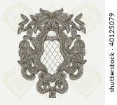 vector vintage design | Shutterstock .eps vector #40125079