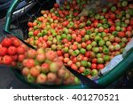 tropical fruit also called... | Shutterstock . vector #401270521