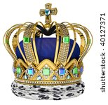 Royal Crown With Jewellery...