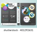 modern flyers  brochure... | Shutterstock .eps vector #401292631