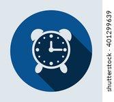 alarm clock icon isolated...