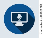 microphone icon  isolated...