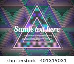 futuristic abstract colorful... | Shutterstock .eps vector #401319031